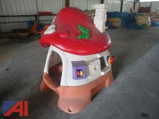 Plastic Mushroom Play House