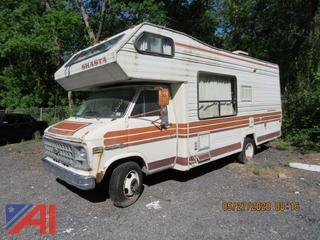 1981 Chevy Shasta Motor Home