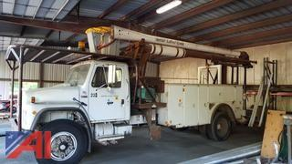 1989 International S Series 1954 Boom Truck