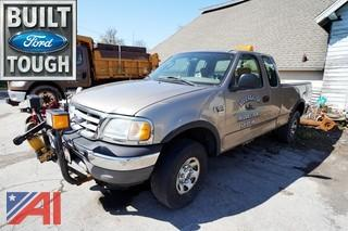 2003 Ford F150 Pickup Truck with Plow