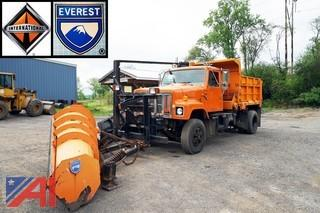 1999 International 2574 Dump Truck with Plow