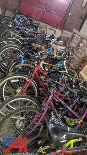 Various Bicycles