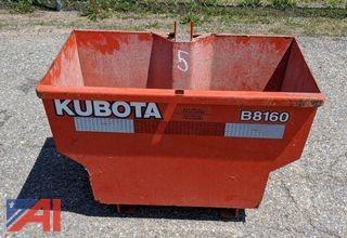 Kubota 3-Point Hitch Weight Box