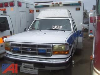 1995 Ford F350 Ambulance