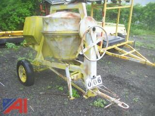 Cement Mixer E#39822 Trailer