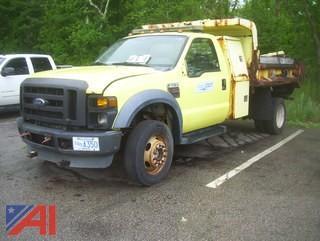 2009 Ford F450 Super Duty Dump Truck