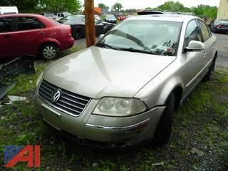 (#8) 2005 Volkswagen Passat 4 Door