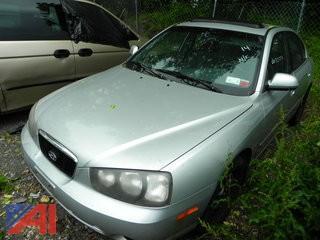 (#14) 2001 Hyundai Elantra 4 Door