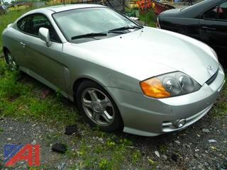 (#15) 2003 Hyundai Tiburon 2 Door