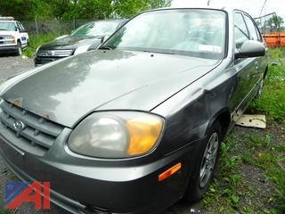 (#17) 2004 Hyundai Accent GL 4 Door