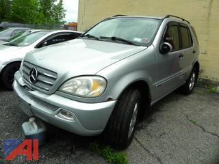 (#19) 2003 Mercedes-Benz ML350 SUV