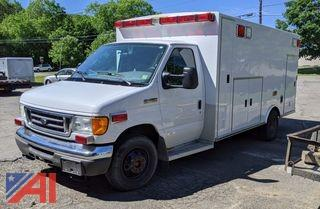2006 Ford E450 Super Duty Ambulance