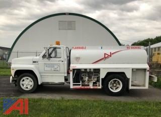 1984 Ford F600G Fuel Tanker Truck