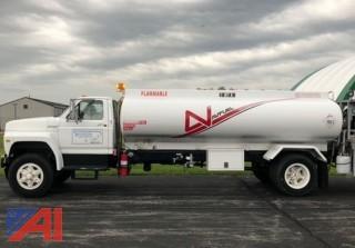1991 Ford F700 Fuel Tanker Truck