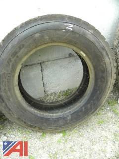 #3 Goodyear 245/70R19.5 Tire