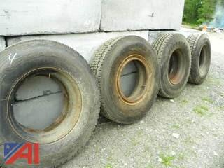 #4 General and Firestone 11R22.5 Tires
