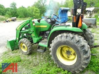 John Deere 4410 Tractor with Bucket