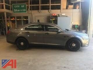 2014 Ford Taurus 4 Door/Police Sedan