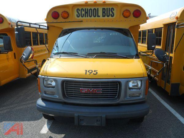 auctions international auction kinderhook csd item 2001 gmc savana 3500 bus auctions international