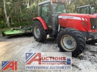 Seminole County, FL 2010 MASSEY-FERGUSON 5465 Tractor & 15ft Batwing