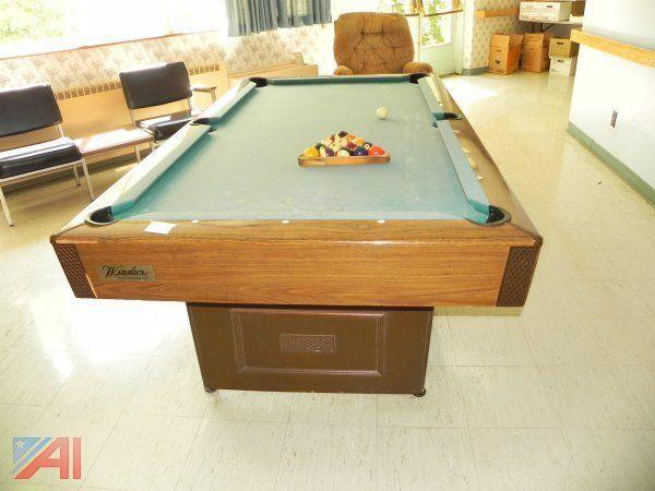 Auctions International Auction Herkimer County Purchasing Day - Brunswick 7 foot pool table