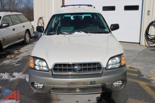 Auctions International Auction Ulster Boces Item 2003 Subaru