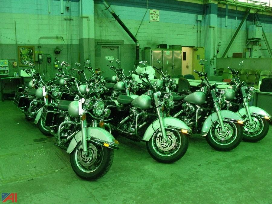 Auctions International - Auction: Harley Davidson Police