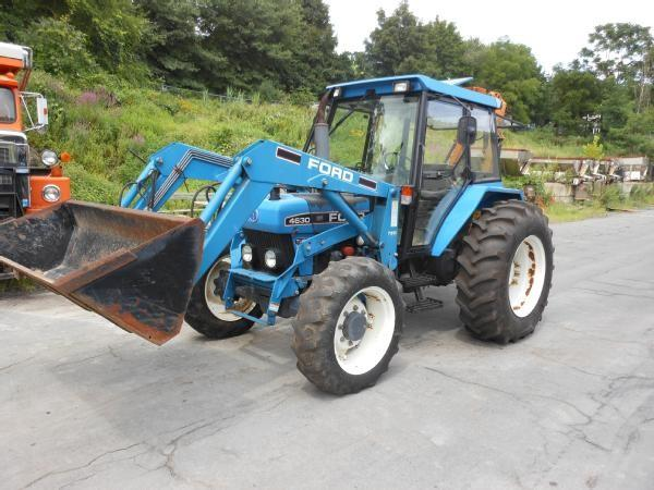 Auctions International Auction Village Of Woodbury Item 1995 Ford New Holland 4630 Turbo Tractor