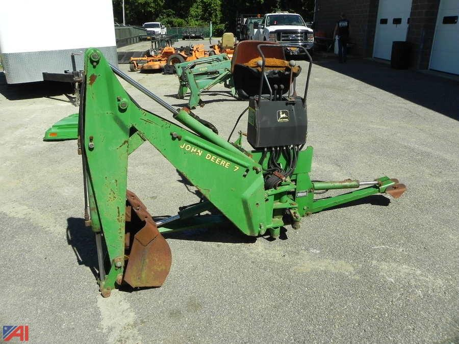 John Deere Backhoe Attachment >> Auctions International Auction Town Of Fishkill 8119 Item John