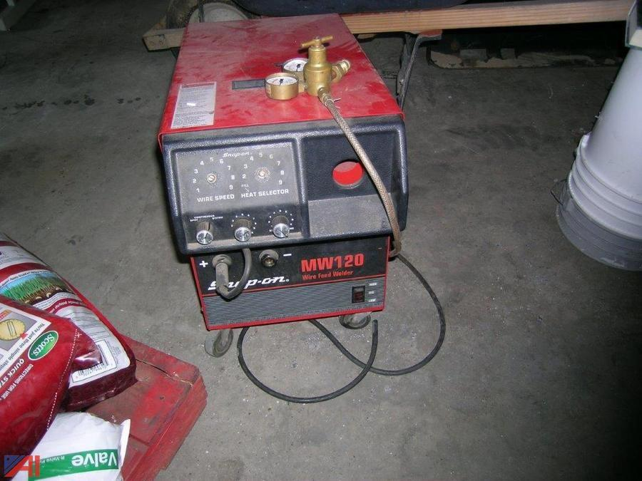 Auctions International Auction Franklin Essex Hamilton Boces 8668 Board Meeting 9 15 16 Item Snap On Mw120 Wire Feed Welder
