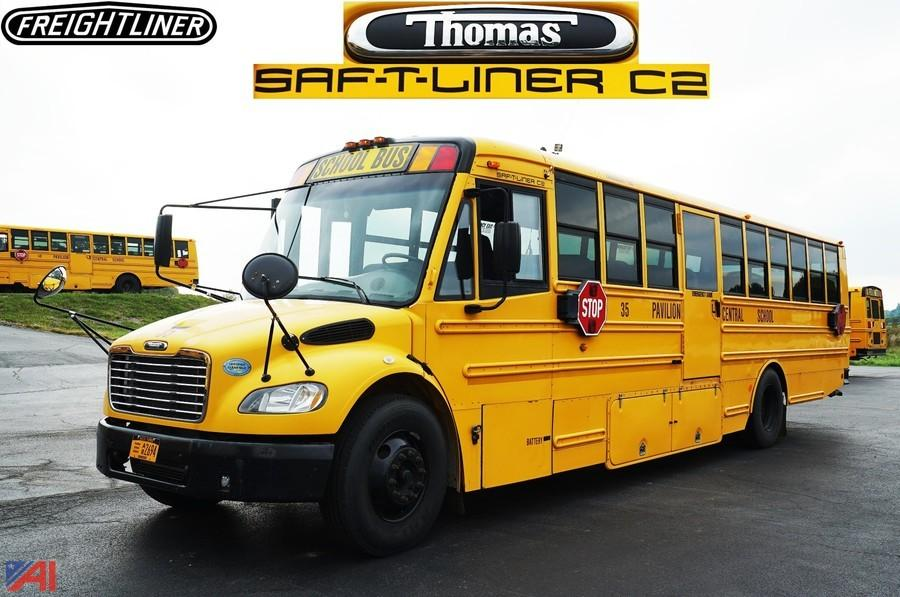 Thomas Built Buses >> Auctions International - Auction: Pavilion CSD Surplus #8934 ITEM: 2008 Thomas/Freightliner Saf ...