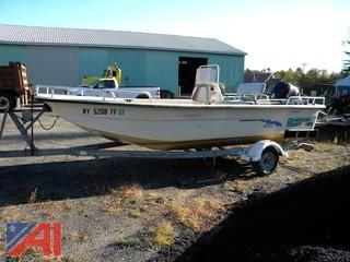 2003 Carolina Skiff 198 Boat & Trailer