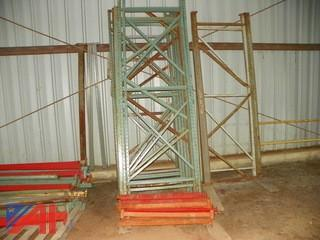 Large Set of Pallet Racks