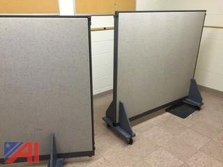 Lot of Office Partitions and Display Boards
