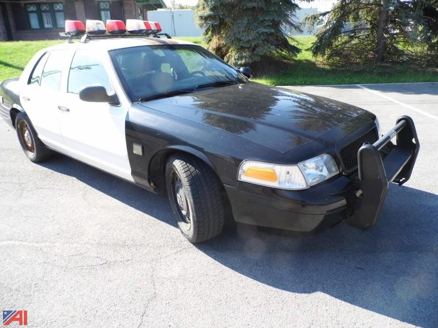 auctions international - auction: medina pd #9072 item: 2008 ford crown  victoria 4dsd/police interceptor