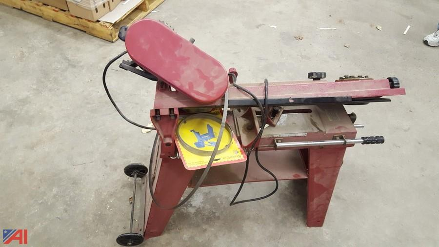 Central Machinery Metal cutting Band Saw 97009 parts manual