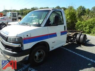 2007 Chevrolet Express G3500 Cab and Chassis