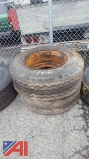 (2) Goodyear Tires