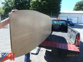 9' Laminate Conference Table Top