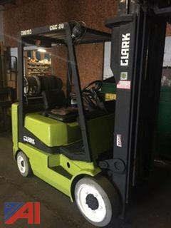 1996 Clark Propane Forklift