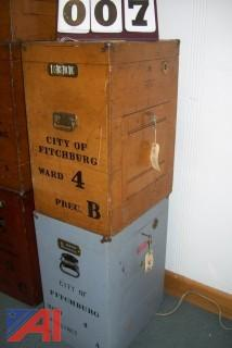 Antique Ballot Boxes