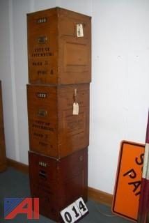 Wooden Ballot Boxes