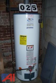 Rudd Gas fired water heater