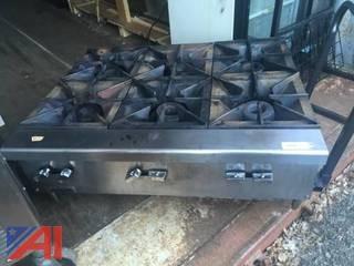 Vulcan 6 Burner Hot Plate