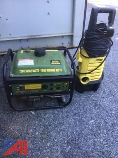 Craftsman Snowblower, Generator, Pressure Washer