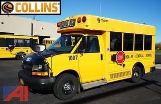 2010 Chevy Collins Mini School Bus