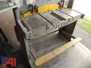 Pexto 137-K 37″ Metal Stomp / Foot Shear