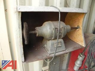 Grinding Machine on Floor Stand