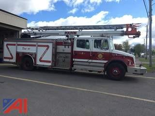 **Updated** 1996 Freightliner FL 80 Fire Truck-4 Door Cab & Chassis