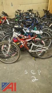 Approximately (23) Assorted Bicycles